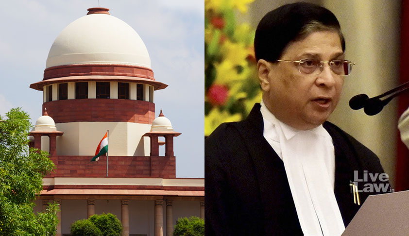 Law Ministry Formally Asks CJI Misra To Recommend Next Chief Justice Of India