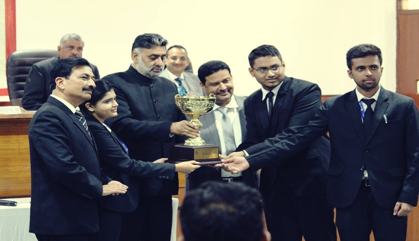 NLU Jodhpur Lifts The Winning Trophy Of 2nd National Moot Court Competition Organized By Law College Dehradun