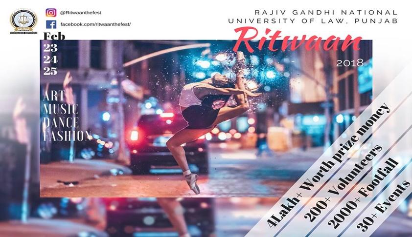 Pre-Invite: Ritvaan, RGNUL's 1st Cultural Fest [23rd-25th Feb, Patiala]