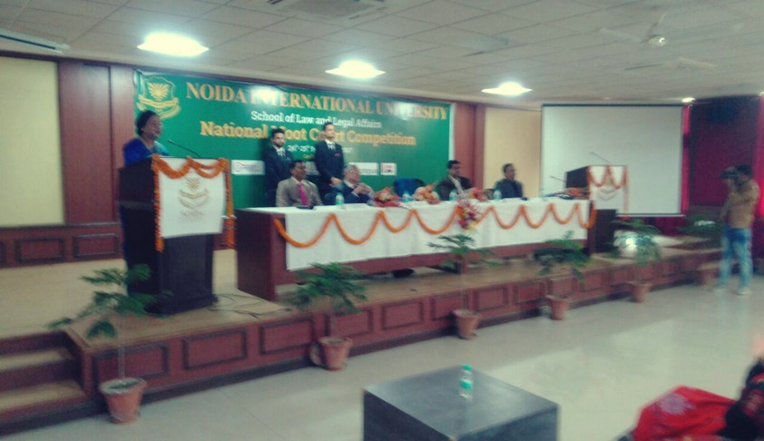 Noida International University's National Moot Court Competition Begins