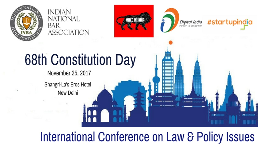 INBA's 68th Constitution Day Conference [Nov 25, New Delhi]