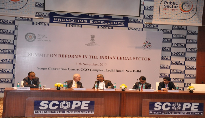 INBA's Bar Leadership Summit On Reforms In The Indian Legal Services Sector' Held On Nov 11 In New Delhi
