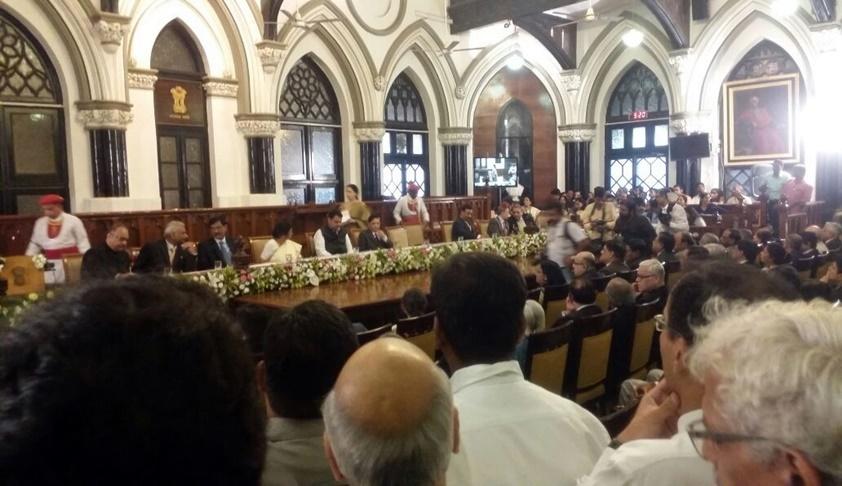 CJI Dipak Misra Lays Stone Of Alternate Dispute Resolution Centre, Opens Creche Facility At Bombay HC