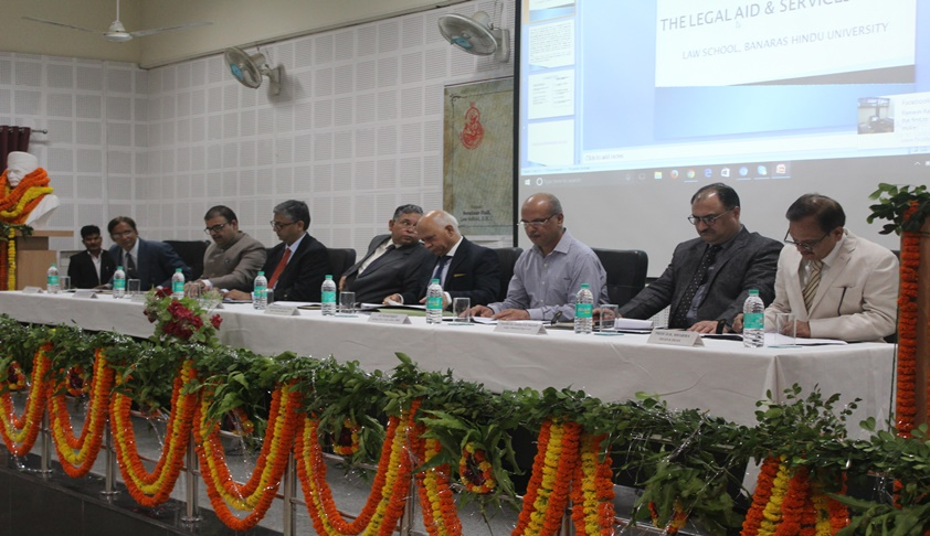 National Legal Aid Week Celebrated at Faculty of Law, BHU