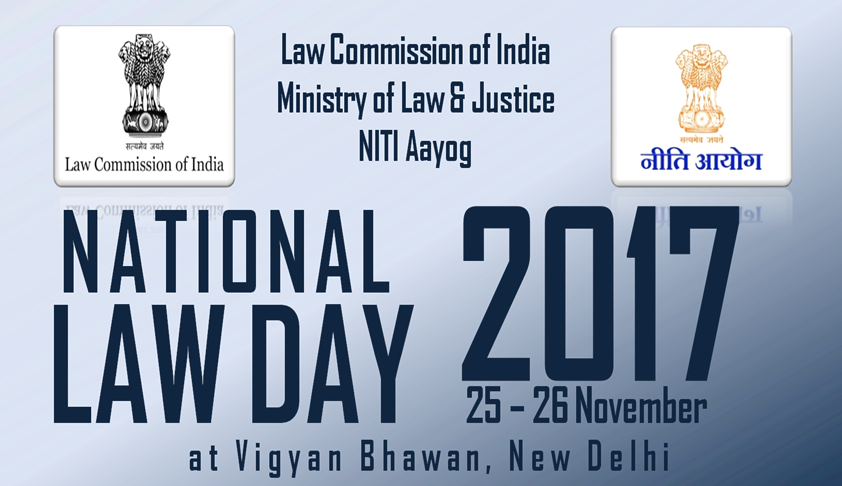 Law Commission of India to Hold National Law Day [Nov 25-26, New Delhi]