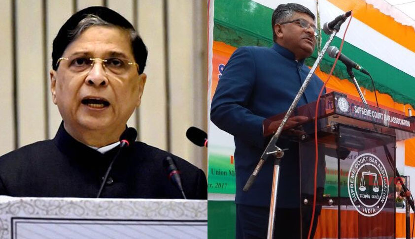 Law Day: Chief Justice, Law Minister Lock Horns Over 'Judicial Overreach'