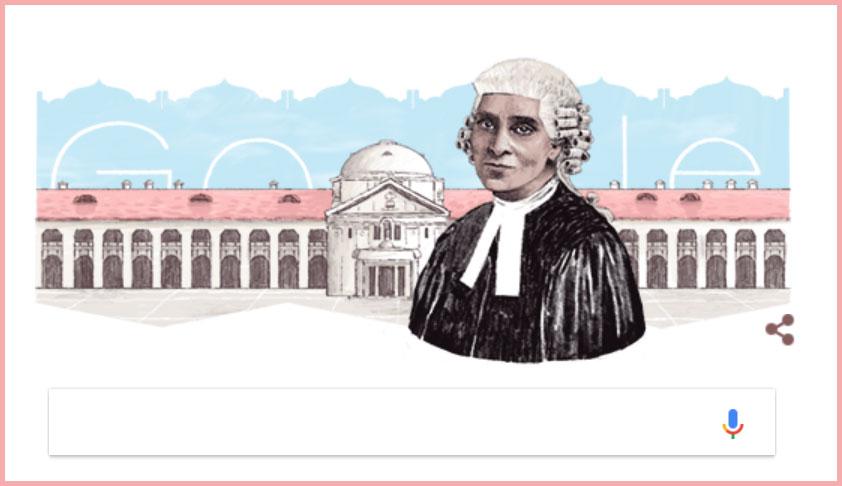 Google Doodle Commemorates Cornelia Sorabji, India