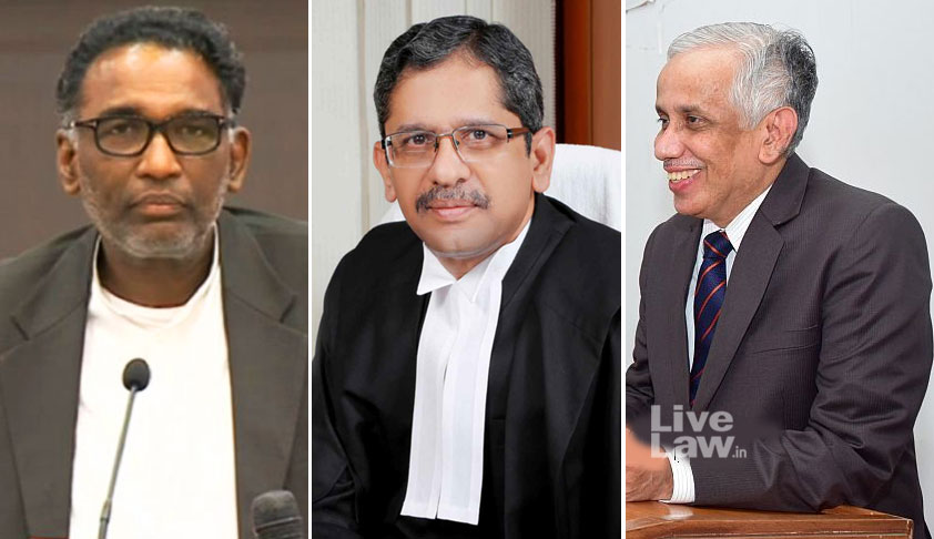 """Is It Before Us Or Not"",  Justice N.V.Ramana Asks The SC Registry, Before Hearing A 32-Year-Old Partition Dispute, Deleted & Shifted From Court No.2"