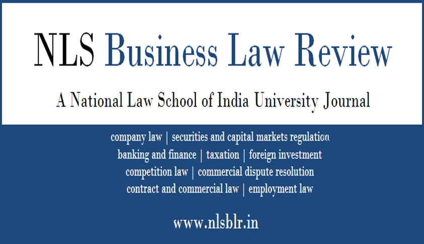 Call for Submissions: NLS Business Law Review (Volume 4)