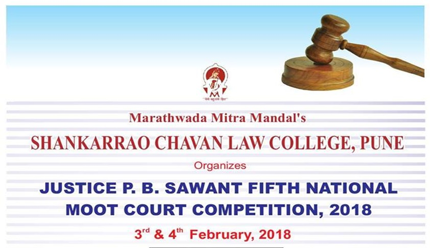 5th Justice PB Sawant National Moot Court Competition [3rd-4th Feb]