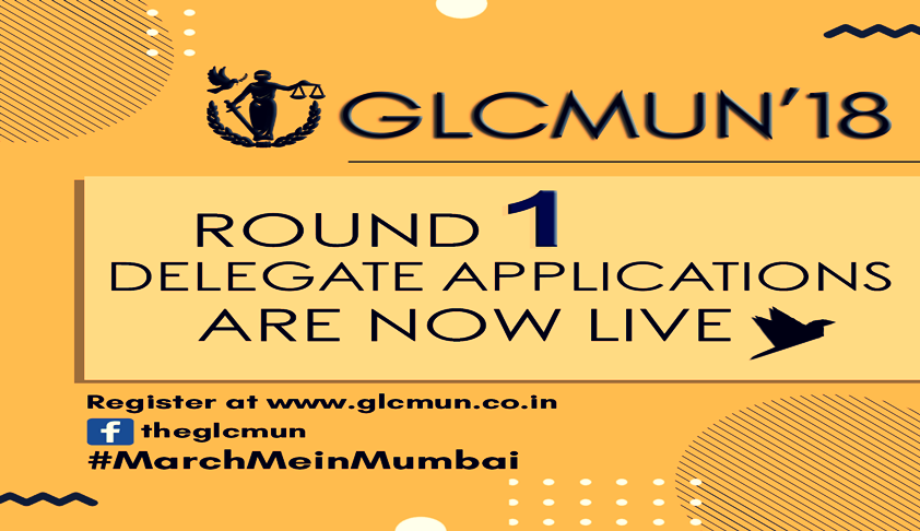 GLCMUN18: Round 1 Delegate Applications Open