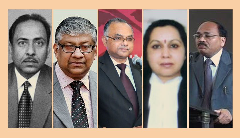 New Chief Justices Recommended For 5 High Courts By The Collegium