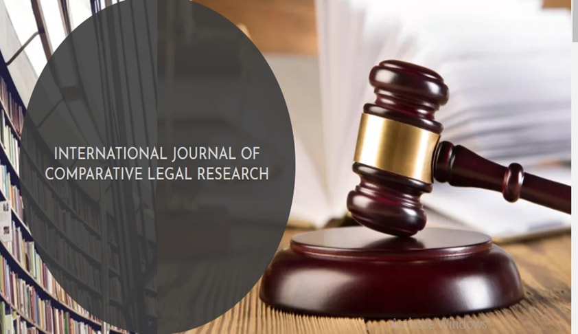 Call For Editors: International Journal Of Comparative Legal Research