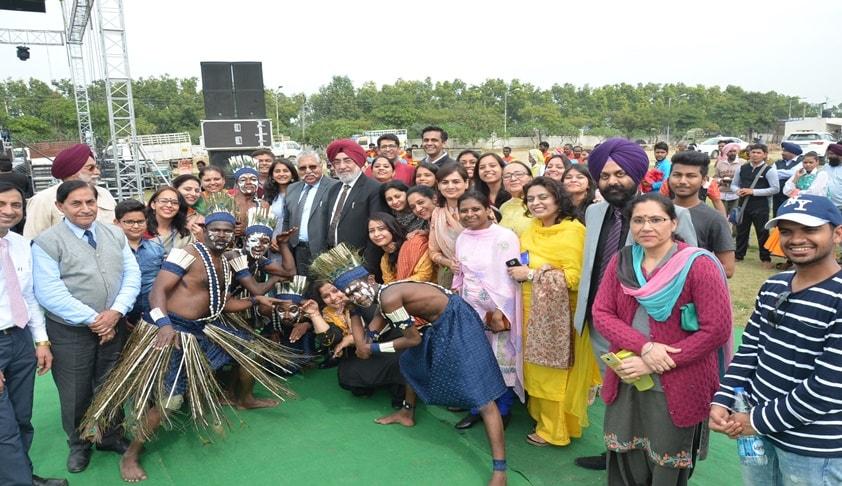 RGNUL Holds National Cultural Fest Ritvaan'18