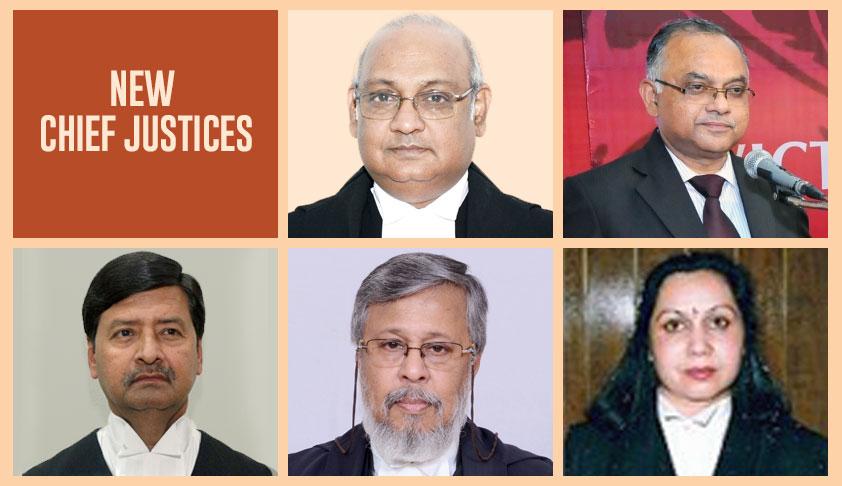 Breaking: New Chief Justices Appointed In Karnataka, Kerala,Tripura, Meghalaya, Manipur HCs [Read Notifications]