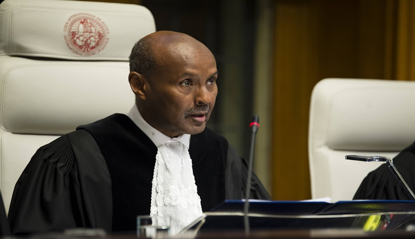 Justice Abdulqawi Ahmed Yusuf Elected As New President Of International Court of Justice (ICJ)