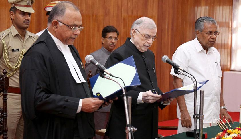 Justice Antony Dominic Sworn In As New Chief Justice Of