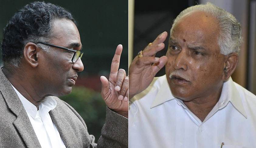 Justice Chelameswar Recuses Himself From Hearing Appeals Against Cancellation Of Sanction To Prosecute B.S. Yeddyurappa