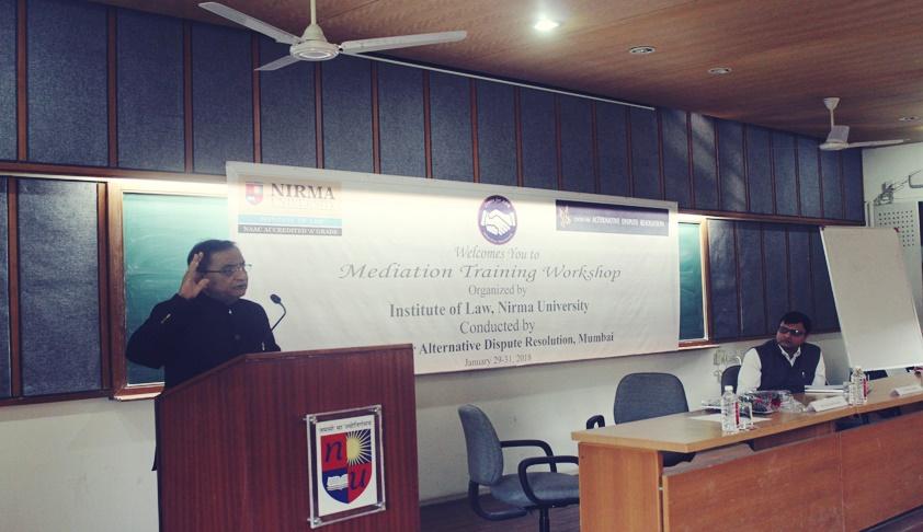 Mediation Workshop Held for Nirma University Students by Firdosh S Karanchiwala