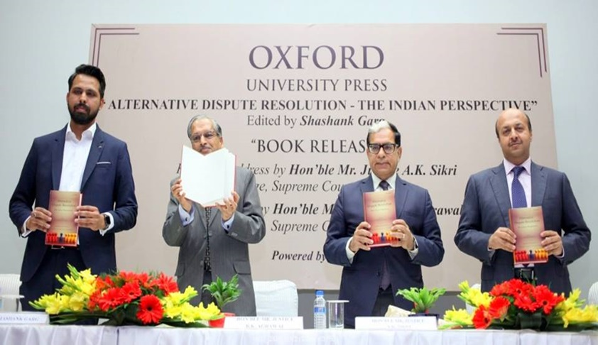 Justice AK Sikri Releases Book on ADR 'Alternative Dispute Resolution – The Indian Perspective'