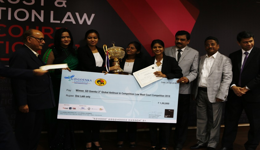 GLC Mumbai Wins 3rd GD Goenka Moot Court Competition