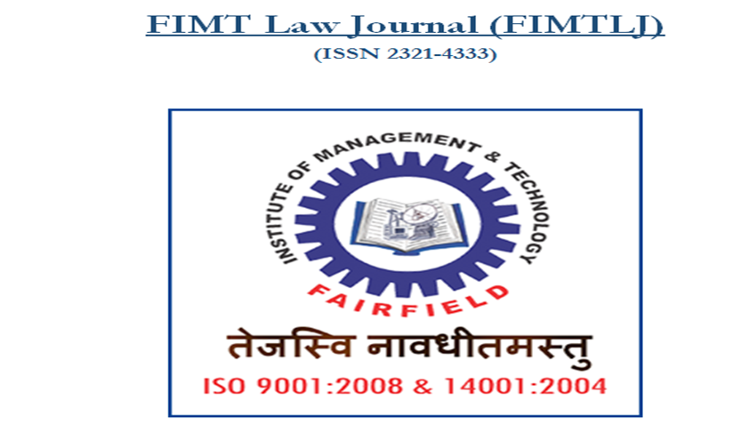 Call for Papers: Fairfield Institute of Management and Technology Law Journal (FIMTLJ) (Volume 1, Issue 1)