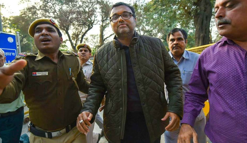"Madras HC Says Look-Out Circular Against Karti Chidambaram Was Issued In ""Hot Haste""; Quashes It [Read Order]"