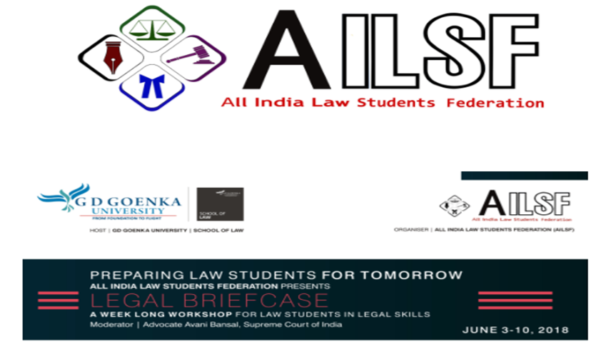 AILSF & GD Goenka To Hold Legal Briefcase Course [3rd-10th Jun; Gurgaon]