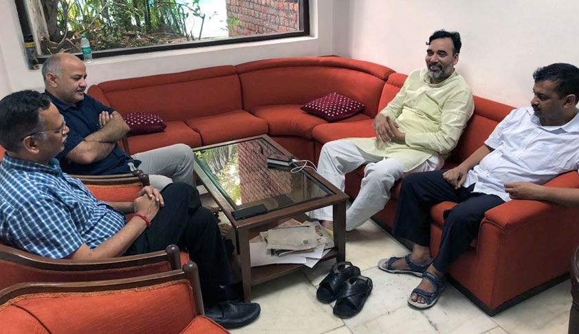 Delhi HC Calls Sit-In By CM Kejriwal, Colleagues 'Inside' LG Office Unauthorised; Says Sitting In Someone