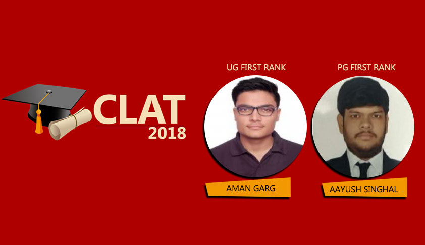 CLAT 2018: Rajasthan Students Clinch Top Four Positions In UG & First Position In PG