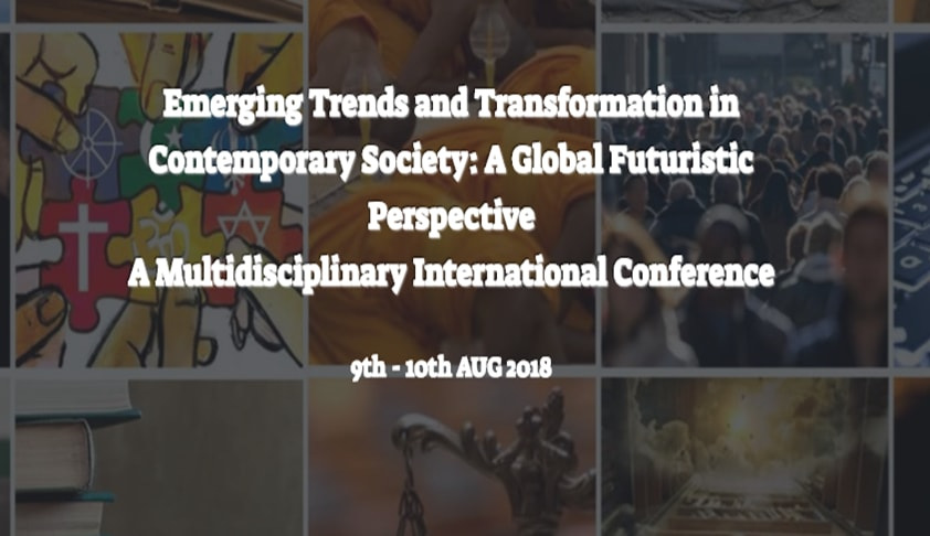 Call for Papers: ALS Noida's Int'l Conference on Trends and Transformation in Contemporary Society [9th-10th Aug]