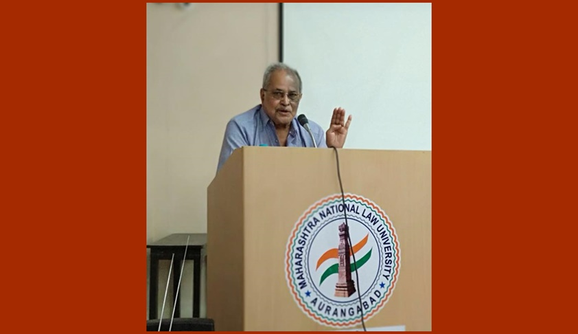 Prof. (Dr) A. Lakshminath Delivers Lecture on Jurisprudence at MNLU, Aurangabad