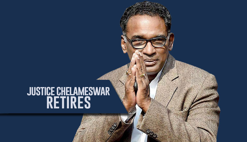 Would Like To Be Remembered As The Man Who Loves Democracy & Liberty & Tried To Uphold Constitutional Values: Justice Chelameswar