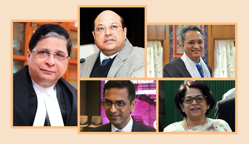 Breaking: CJI Dipak Misra, Justices Nariman, Chandachud, Khanwilkar And Indu Malhotra To Hear S.377 Case