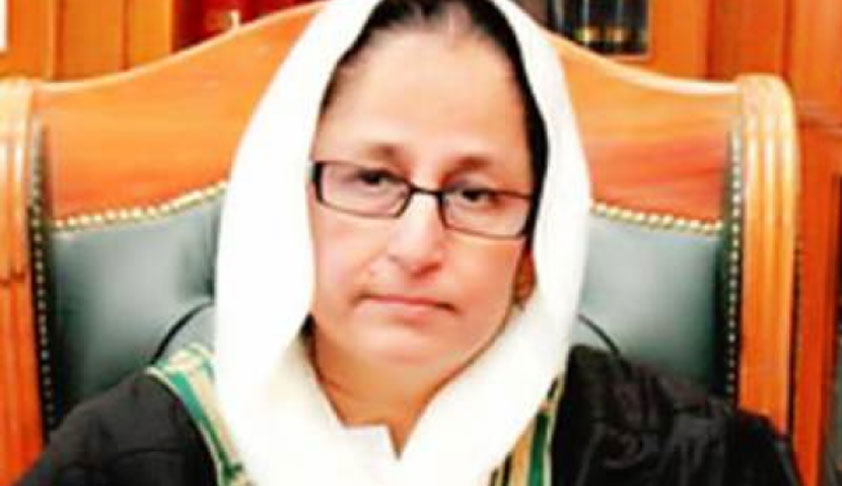 Justice Syeda Tahira Safdar To Be The First Woman High Court Chief Justice In Pakistan