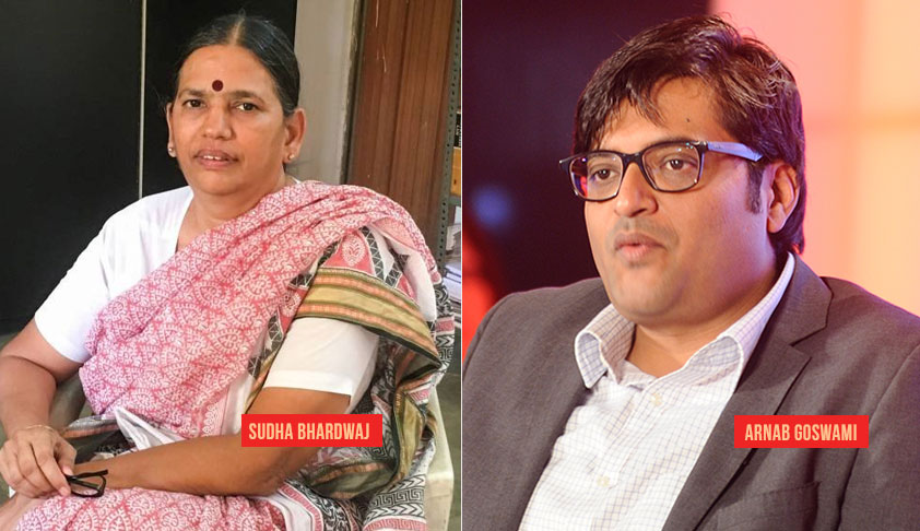 PUCL Comes In Support Of Nat'l Secy Sudha Bharadwaj, Seeks Apology From Republic TV