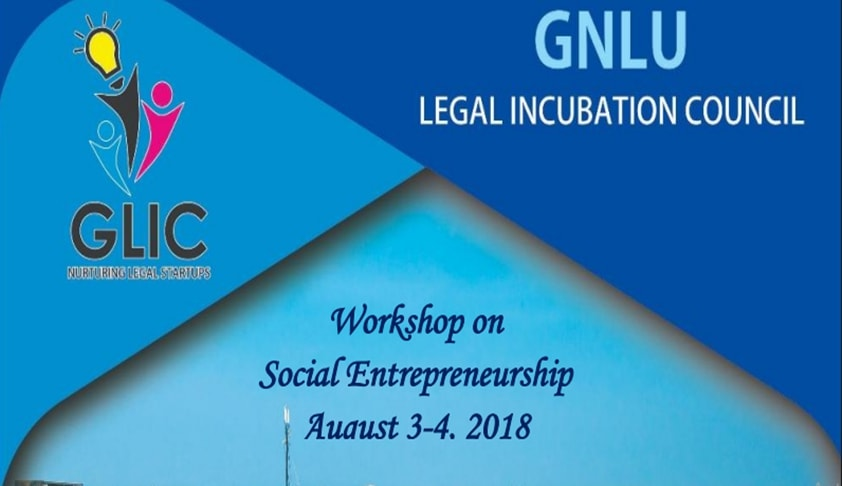 GNLU: Workshop On Social Entrepreneurship