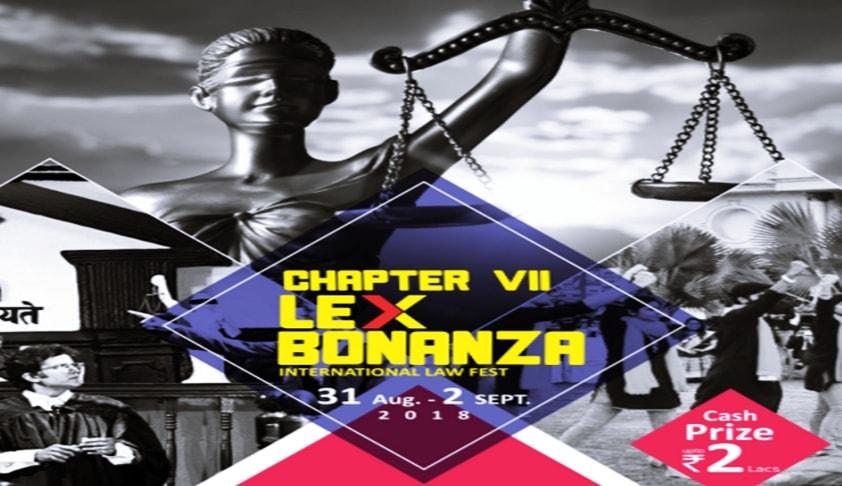 Lex Bonanza 2018: Indore Institute of Law's Law Fest