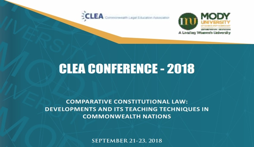 Call For Papers: Mody University's CLEA Conference on Comparative Constitutional Law