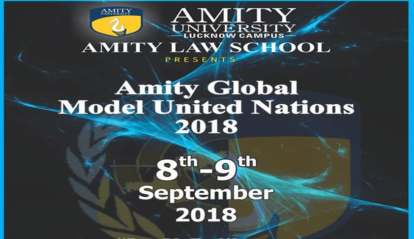 Amity Global Model United Nations [8th-9th Sept; Lucknow]