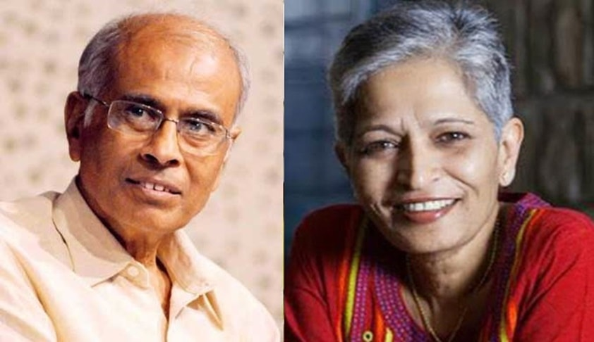 Killings Of Gauri Lankesh And Narendra Dabholkar Linked :CBI Tells Pune Court