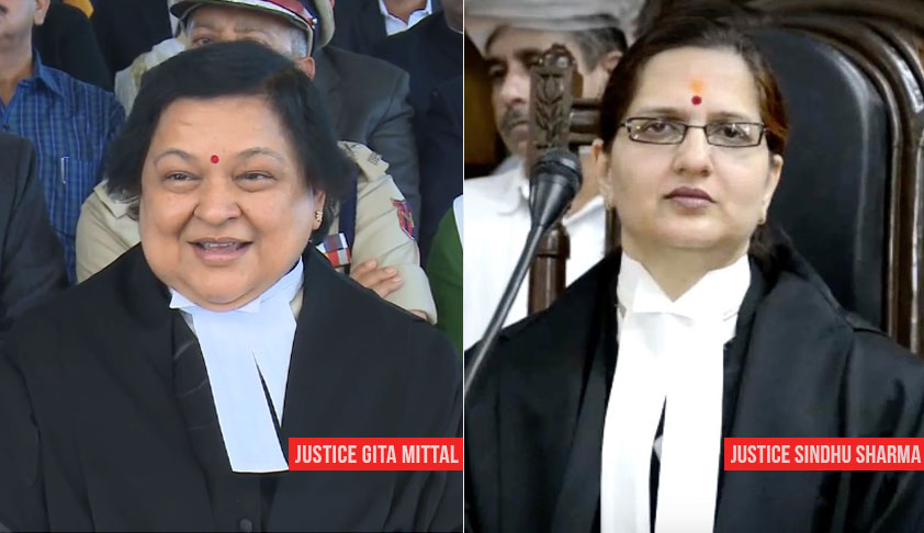 After A Wait Of 90 Years, Jammu And Kashmir High Court Finally Has Two Woman Judges Now