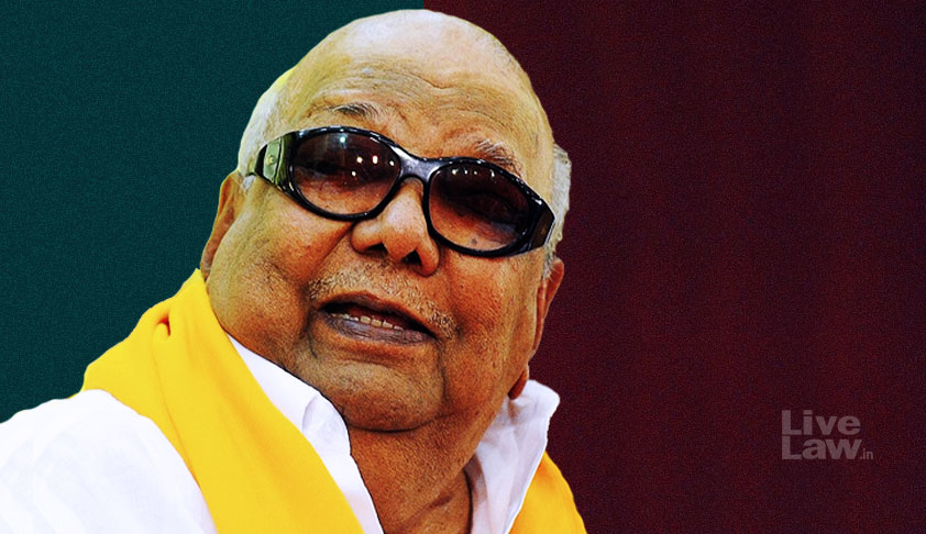 Madras HC Allows Marina Beach To Be The Final Resting Place of Karunanidhi [ Read Order]