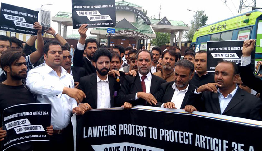 Article 35A: CJI Refuses To Get Into Issues Of Shutdown And Lawyers Strike In Kashmir