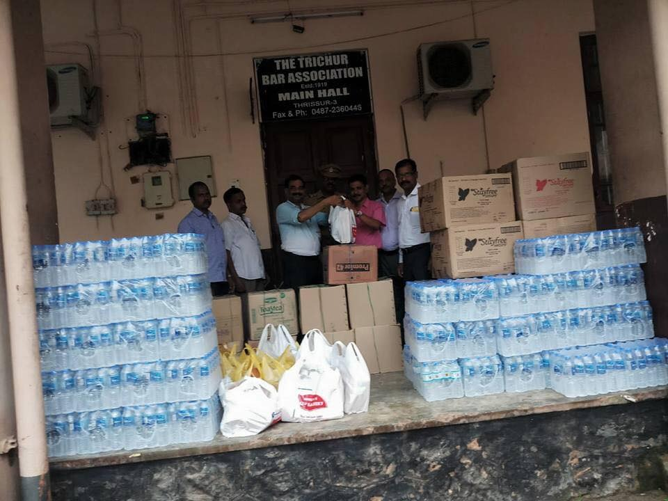 Lawyers Deny That They Resisted Storage of Flood Relief Materials In Bar Association