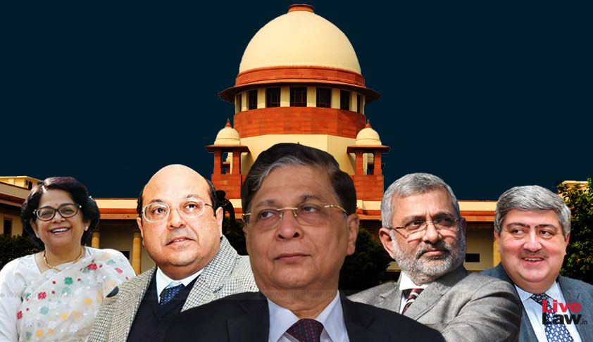 "[Reservation In Promotion] [Day3] Jaising, Dwivedi, Patwalia, Tushar Mehta, Sanjay Hegde Seek Reconsideration Of ""Nagraj"", Shanti Bhushan And Rajeev Dhavan Resists [Courtroom Exchange]"