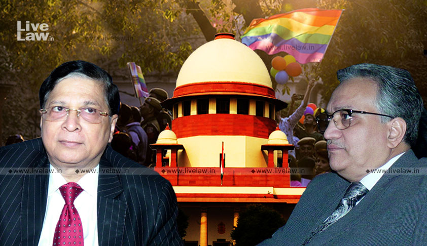S.377 Subjects LGBT Community To Discrimination; Used As A Weapon For Their Harassment: CJI Misra