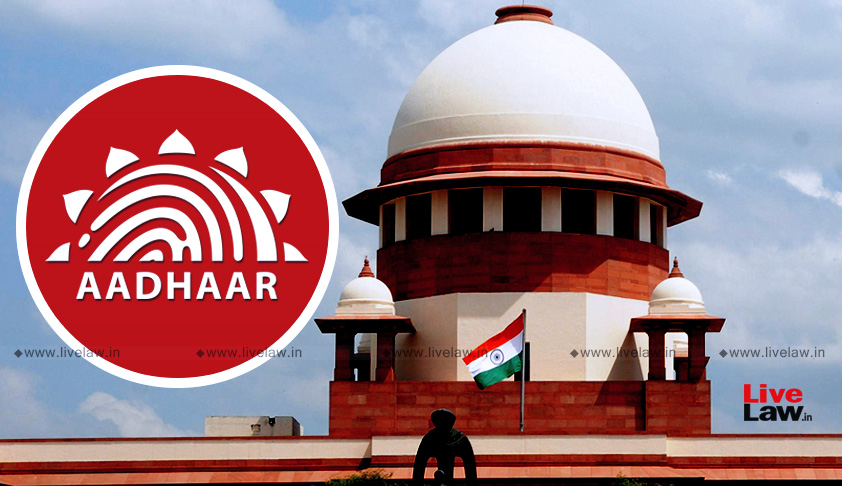 Review Petition Filed In SC Against Constitution Bench's Aadhaar Judgment [Read Petition]