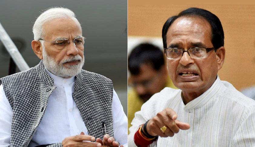 Remove Tiles Bearing PM Modi & CM Shiv Raj Chauhan's Pictures From Pradhan Mantri Awas Yojna Houses: Madhya Pradesh HC [Read Order]
