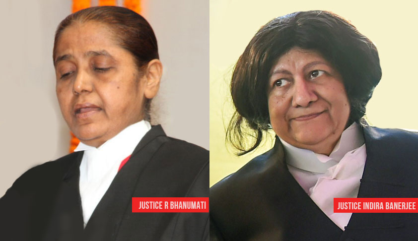 Justice R Banumathi & Justice Indira Banerjee Differ Over Issuance Of Notice In SLP [Read Order]